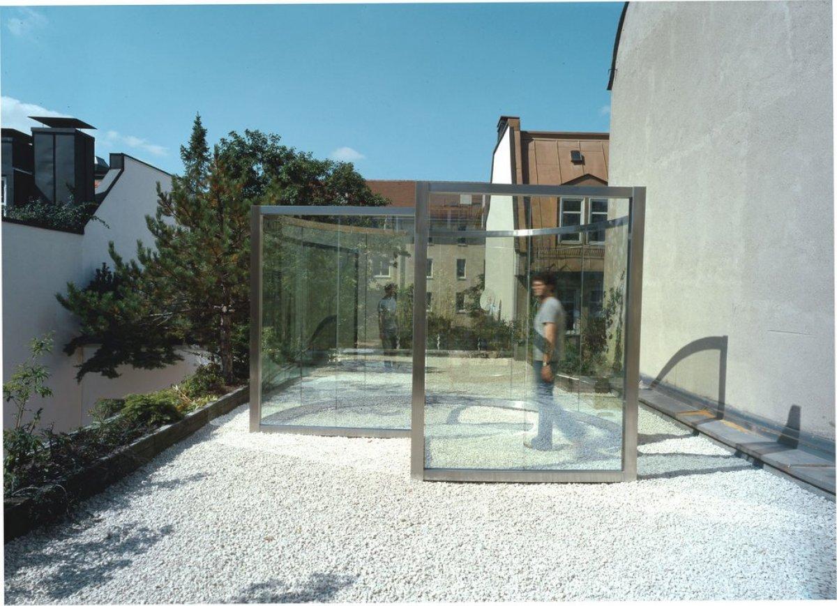 Dan Graham Artist At Galerie Rudiger Schottle